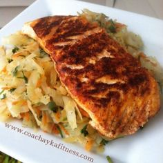 Ripped Recipes - Cabbage Saute - Super low in calories but very healthy and easy to make. Will keep you full and satisfied.
