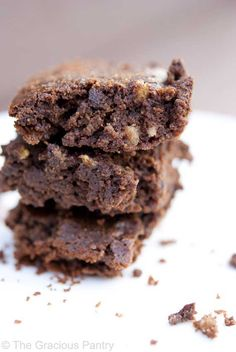 Ingredients:    1/3 cup coconut flour  1/3 cup unsweetened cocoa powder  1/3 cup coconut oil  5 whole eggs  1/2 cup maple syrup  2 teaspoons pure vanilla extract, no sugar added