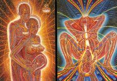 Paintings d' Alex Grey Alex Grey, Alex Gray Art, Tantra Art, Muse Art, Anatomy Art, Visionary Art, Psychedelic Art, Occult, Trippy