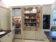 Neptune Suffolk Larder Cabinet supplied by Topstak. www.topstak.co.uk