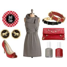 #Bama Gameday outfit