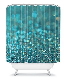 Look at this Lisa Argyropoulos Aquios Shower Curtain on #zulily today!