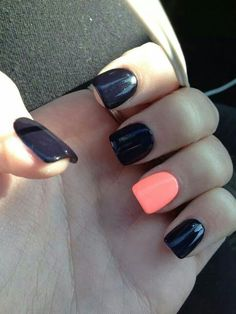 A new season is here; it's time to bring out the best fall nail colors to flaunt this season! New and classic fall nail colors from my favorite nail polish bran Cute Nail Art Designs, Black Nail Designs, Fall Nail Designs, Nail Polish Designs, Acrylic Nail Designs, Gel Polish, Acrylic Nails, Nails Design, Gel Nail