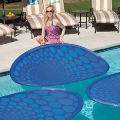 Therma Spring Solar Rings Floating Pool Panels Warm Up Your While Keeping Heating Costs Down These Easy To Use Even Help Reduce