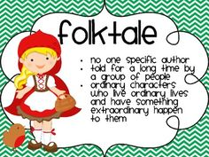 Fables, Folktales and Fairy Tales FREEBIE!