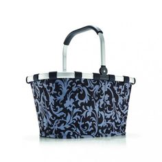 Koszyk carrybag baroque navy - DECO Salon #reisenthel #basket #shoping #giftidea  #bag #homeaccessories