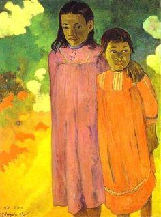 Piti Teina (Two Sisters) Paul Gauguin
