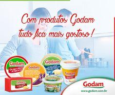 Com produtos Godam tudo fica mais gostoso! Acesse nosso site: www.godam.com.br