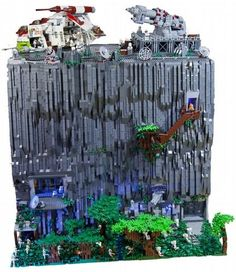 Clone base on Teth - custom #StarWars LEGO build by Matthias Strauss