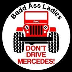 Jeep Lover tee shirt Custom Printed  Badd Ass Ladies     jeeplady2012, $15.99