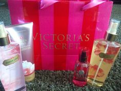 Victoria Secret sprays <3