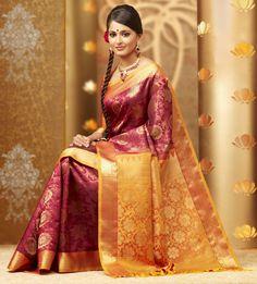 Silk Sarees for Women From Klasyy Fashion For more visit @ http://indianfashionhub.wordpress.com/2014/07/05/the-charm-of-silk-sarees/