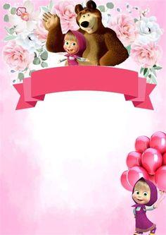 Birthday Text, Bear Birthday, 2nd Birthday, Birthday Backdrop, Birthday Balloons, Russian Bear Dog, Marsha And The Bear, Hand Washing Poster, Bear Fishing