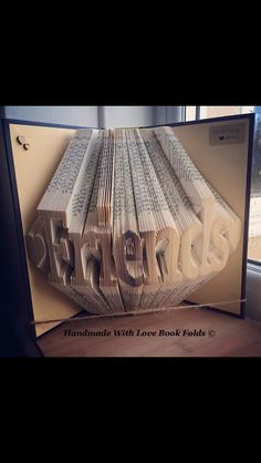 Friends book fold