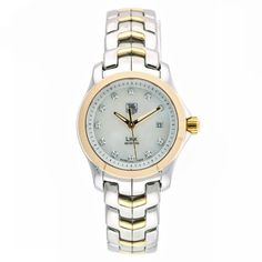 TAG Heuer Women's WJF1353.BB0581 Diamond Accented Two-Tone Link Watch by TAG Heuer @ TAG-Heuer-Watches .com