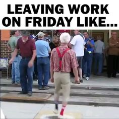 F-r-i-d-a-y funny! Happy Friday Humour, Happy Friday Quotes, Tgif Funny, Hilarious, Funny Friday, Work Jokes, Work Humor, Tgif Quotes, Good Morning Quotes