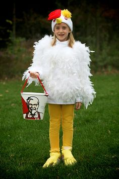 Chicken costume that offends chickens