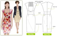 """Pattern Review: StyleArc Heather Dress 