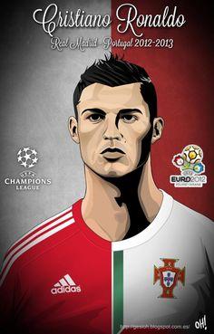 Cristiano Ronaldo, Real Madrid - Portugal