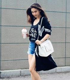 #Angelababy Stunning Girls, Gorgeous Women, Beautiful, Japanese Kimono Dress, Fashion Angels, Angelababy, Summer Lookbook, Female Actresses, Girl Fashion
