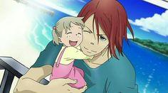Little maka and Spirit - Soul Eater Art Anime