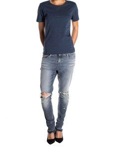 BOYFRIEND COTTON STRIPE T SHIRT - Women - DENHAM the Jeanmaker