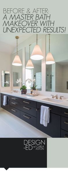 BEFORE & AFTER: A Master Bathroom Remodel Surprises Everyone With Unexpected Results — DESIGNED w/ Carla Aston
