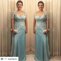 #Repost @luanlavin with @repostapp. ・・・ Beauty by Luan Lavin para mãe do noivo  vestido lindo do @ateliercyntyavercosa . #beautybyluanlavin  #bestofbeauty  #makedossonhos  #equipesandrosantos