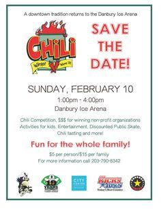 Danbury Chili Winter Warm Up Tasting + Contest and 5K Heats up February!