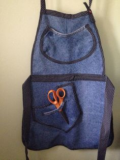 A personal favorite from my Etsy shop https://www.etsy.com/listing/516676698/denim-apron