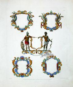 Knight Antique Heraldic Crest Prints