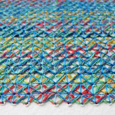 O Blog da DMC: Entrevista a Rachel Parker, artista têxtil inglesa