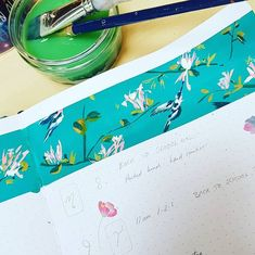 """Michelle Peters on Instagram: """"I feel so much better once I've planned out the next few weeks #bujocommunity #slowliving_create #gouachart #stylingmycreativity…"""" Bullet Journal Junkies, Bullet Journal Inspiration, Bujo Weekly Spread, Hand Lettering, Stationery, How To Plan, Create, Instagram, Paper Mill"""