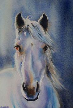 Aquarelles animaux - Aquarelle Marichalar Watercolor