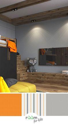 Stylische Gestaltungsidee Für Ein Jugendzimmer