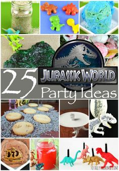 25 Roaring Jurassic World Party Ideas