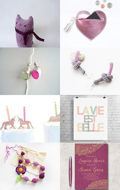 Spring pink by Sani on Etsy--Pinned with TreasuryPin.com
