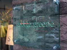 Jade Glass Etched sign by www.impactsigns.com, via Flickr