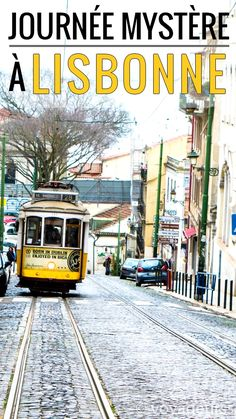 Have you ever tried discovering a city with a secret program? We did in Lisbon, and it's a lot of fun! Visit Portugal, Portugal Travel, History Of Portugal, Places To Travel, Places To Visit, Portuguese Culture, Photos Voyages, Travel List, Travel Guide