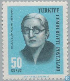 Postage Stamps - Turkey - Cultural celebrities