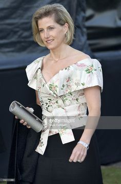 The Countess Of Wessex Attends Music On Fire For The Army Benevolent Fund At The Royal Military Academy, Sandhurst, Surrey.