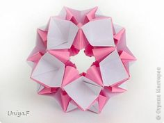 Kusudama Origami Master Class Tutorial Hollywood Star Photo Paper 1