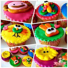 Baby Tv Cupcakes