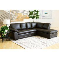 Shop for Abbyson Devonshire Leather Tufted Sectional. Get free delivery On EVERYTHING* Overstock - Your Online Furniture Shop! Get in rewards with Club O! Tufted Sectional, U Shaped Sectional, Leather Sectional Sofas, Living Room Seating, Cozy Living Rooms, Living Room Furniture, Living Room Decor, Brown Sofa, Furniture Deals