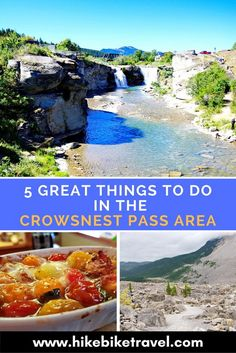 5 Great Things to do in the Crowsnest Pass Area of Alberta