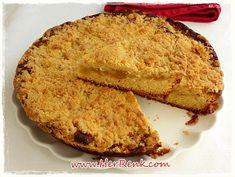 Kırıntılı Alman Keki-üstü kırıntılı alman pastası,elmalı kahve keki,elmalı kırıntı keki,elmalı kek tarifi,meyveli kek,kek tarifleri,çay saati,kahvaltı için,değişik kek tarifleri,resimli kek tarifleri,tereyağlı kek,elmalı tar,tart kalıbında kek,