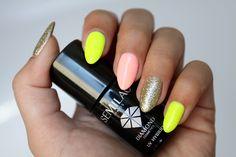 S Y L V E S T R R A * : Semilac: Summer Nails