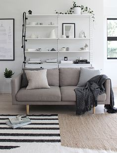 T.D.C | Textured cushions and  Organic Lines rug by Nodi