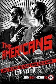The Americans: Phillip ed Elizabeth sono due spie del KGB sotto copertura. Cresciuti e addestrati in URSS, vivono nella Washington dei primi anni 80 come una giovane coppia americana. Nonostante il loro matrimonio sia solo una farsa, hanno maturato sentimenti reali, che vengono però messi alla prova dagli sviluppi della guerra fredda. Inoltre i figli, ignari di tutto, stanno crescendo come due perfetti americani, vicini ai valori di quel capitalismo che invece la coppia è chiamata a…