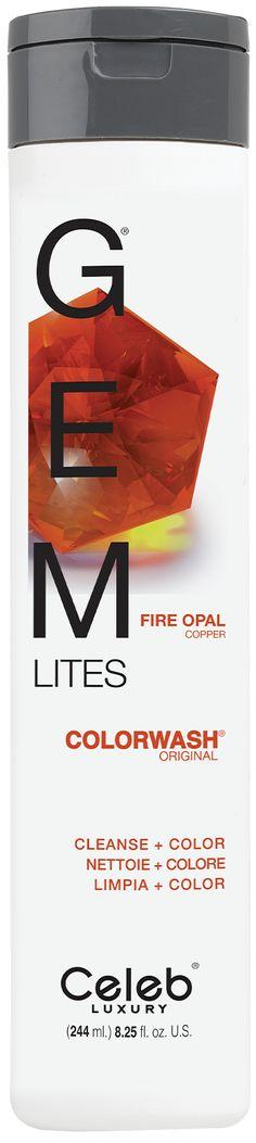 Celeb Luxury Gemlites Fire Opal